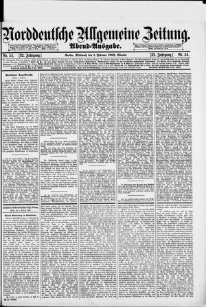 Norddeutsche allgemeine Zeitung on Feb 1, 1893