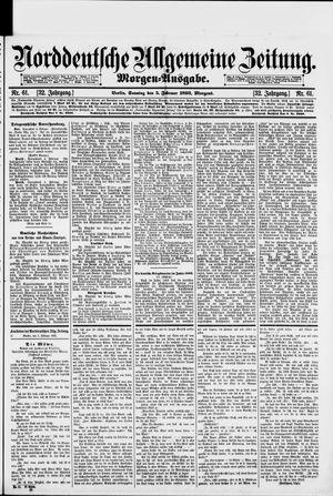 Norddeutsche allgemeine Zeitung on Feb 5, 1893