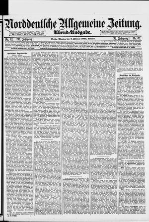 Norddeutsche allgemeine Zeitung on Feb 6, 1893