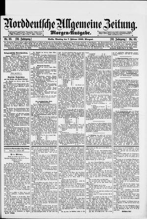 Norddeutsche allgemeine Zeitung vom 07.02.1893