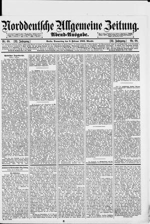 Norddeutsche allgemeine Zeitung vom 09.02.1893