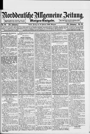 Norddeutsche allgemeine Zeitung vom 10.02.1893