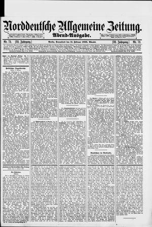 Norddeutsche allgemeine Zeitung vom 11.02.1893