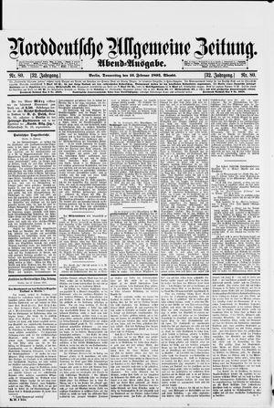 Norddeutsche allgemeine Zeitung vom 16.02.1893