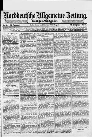 Norddeutsche allgemeine Zeitung on Feb 19, 1893