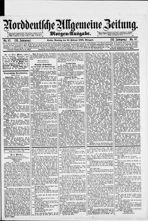 Norddeutsche allgemeine Zeitung vom 21.02.1893