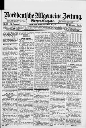 Norddeutsche allgemeine Zeitung vom 24.02.1893