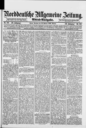 Norddeutsche allgemeine Zeitung vom 28.02.1893