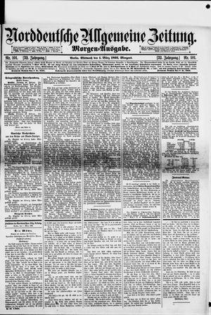 Norddeutsche allgemeine Zeitung vom 01.03.1893