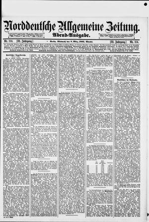 Norddeutsche allgemeine Zeitung vom 08.03.1893