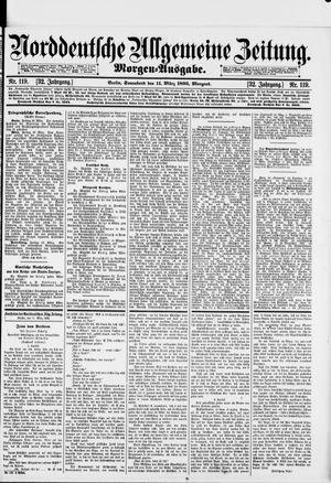 Norddeutsche allgemeine Zeitung vom 11.03.1893