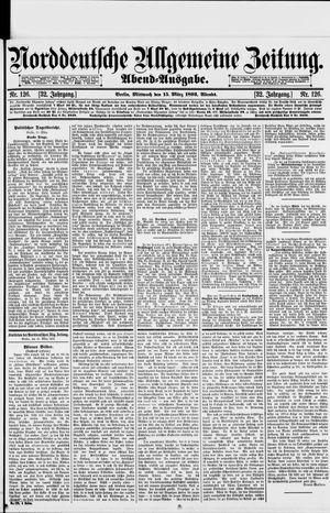 Norddeutsche allgemeine Zeitung vom 15.03.1893