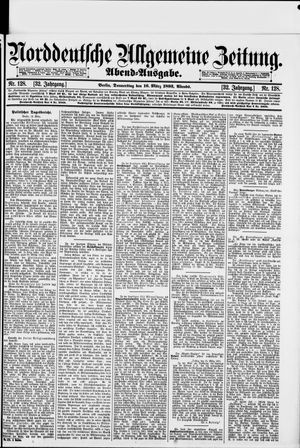 Norddeutsche allgemeine Zeitung vom 16.03.1893