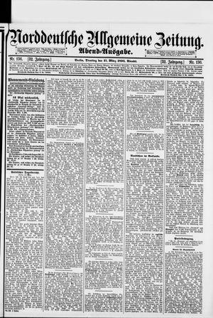 Norddeutsche allgemeine Zeitung vom 21.03.1893
