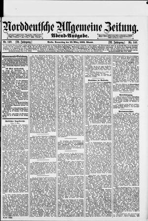 Norddeutsche allgemeine Zeitung vom 23.03.1893