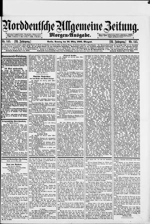 Norddeutsche allgemeine Zeitung vom 26.03.1893