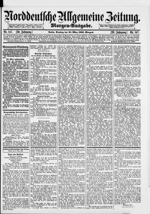 Norddeutsche allgemeine Zeitung vom 28.03.1893