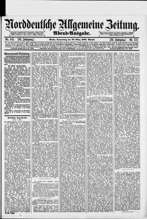 Norddeutsche allgemeine Zeitung vom 30.03.1893