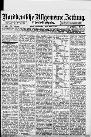 Norddeutsche allgemeine Zeitung vom 01.04.1893
