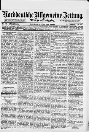 Norddeutsche allgemeine Zeitung vom 07.04.1893