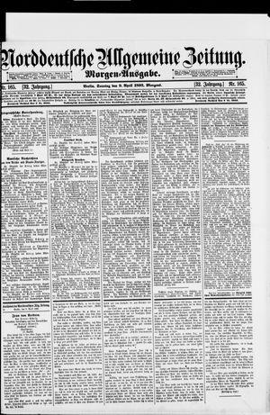 Norddeutsche allgemeine Zeitung vom 09.04.1893