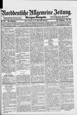 Norddeutsche allgemeine Zeitung vom 11.04.1893
