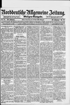 Norddeutsche allgemeine Zeitung vom 13.04.1893
