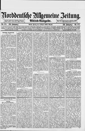 Norddeutsche allgemeine Zeitung vom 14.04.1893