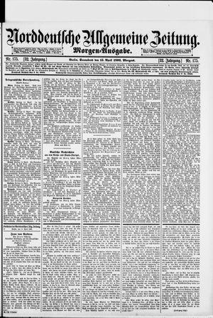 Norddeutsche allgemeine Zeitung vom 15.04.1893