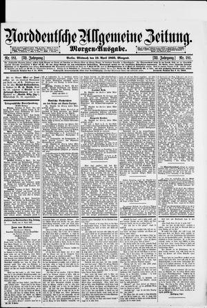 Norddeutsche allgemeine Zeitung vom 19.04.1893