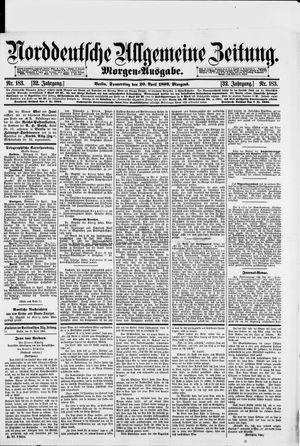 Norddeutsche allgemeine Zeitung vom 20.04.1893