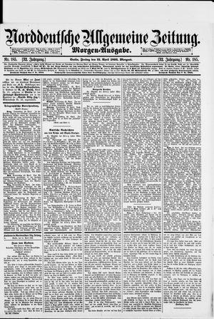 Norddeutsche allgemeine Zeitung vom 21.04.1893
