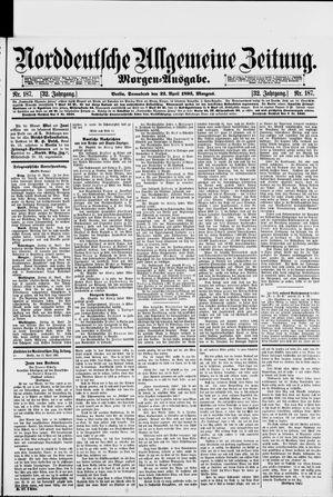 Norddeutsche allgemeine Zeitung vom 22.04.1893
