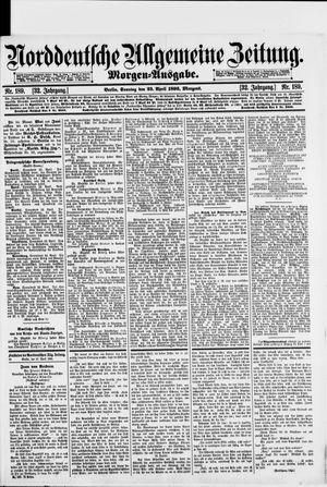 Norddeutsche allgemeine Zeitung on Apr 23, 1893