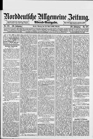 Norddeutsche allgemeine Zeitung vom 24.04.1893