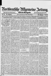 Norddeutsche allgemeine Zeitung
