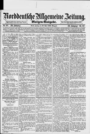 Norddeutsche allgemeine Zeitung vom 28.04.1893