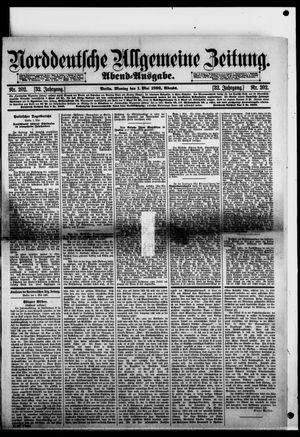 Norddeutsche allgemeine Zeitung vom 01.05.1893