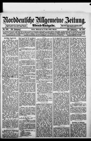 Norddeutsche allgemeine Zeitung vom 03.05.1893