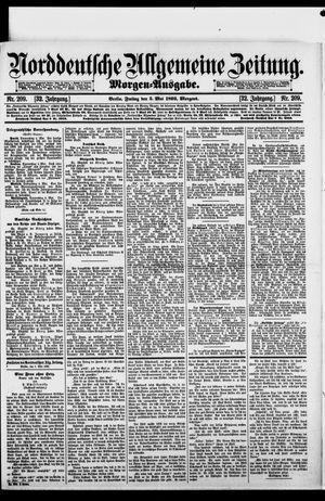 Norddeutsche allgemeine Zeitung on May 5, 1893