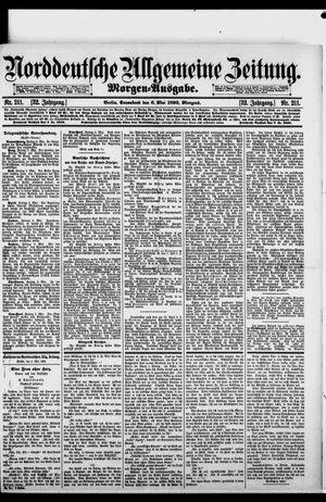 Norddeutsche allgemeine Zeitung vom 06.05.1893