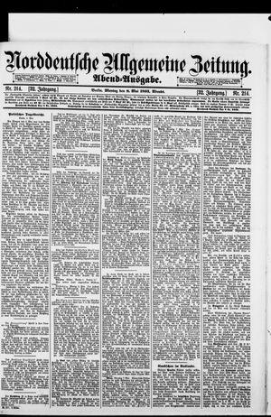 Norddeutsche allgemeine Zeitung vom 08.05.1893