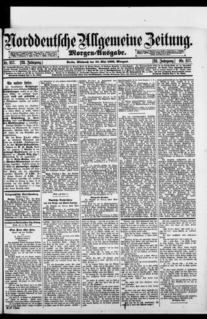 Norddeutsche allgemeine Zeitung vom 10.05.1893