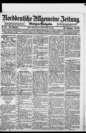 Norddeutsche allgemeine Zeitung vom 11.05.1893