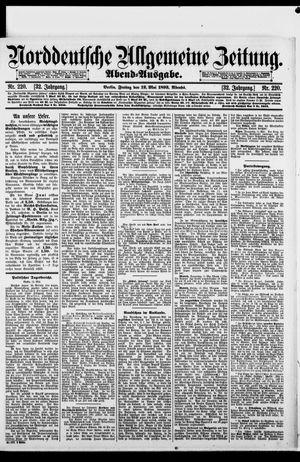 Norddeutsche allgemeine Zeitung vom 12.05.1893