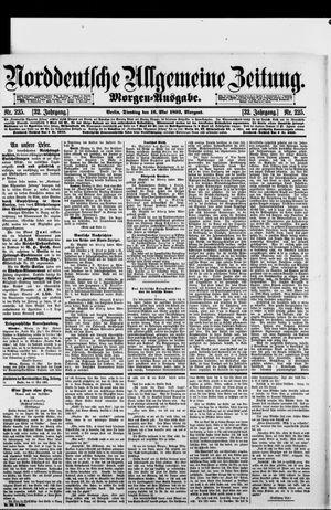 Norddeutsche allgemeine Zeitung on May 16, 1893
