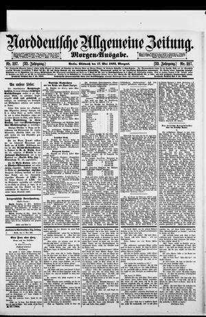 Norddeutsche allgemeine Zeitung vom 17.05.1893
