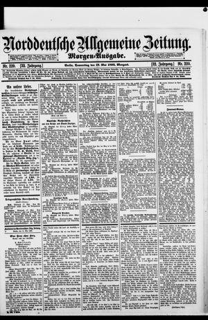 Norddeutsche allgemeine Zeitung vom 18.05.1893
