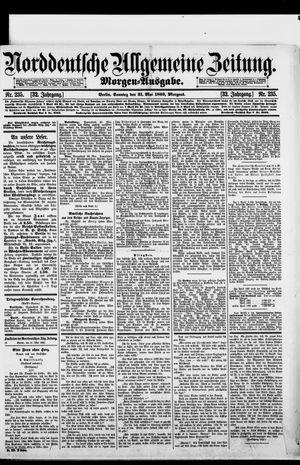 Norddeutsche allgemeine Zeitung vom 21.05.1893