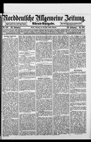 Norddeutsche allgemeine Zeitung vom 23.05.1893